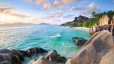 Playa paradisíaca bora-bora