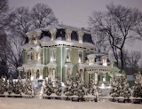 ^ Snow covered, Silas W. Robbins House Built in 1873, Wethersfie