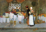 Frederick Childe Hassam, At the Florist, 1889