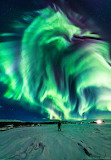 "Space nasa-daily ""Dragon Aurora over Iceland"""