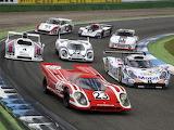 Seven Porsches