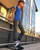 Boy in adidas