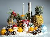 christmas food, snowman
