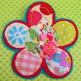 ☺♥ Fabric flower...