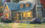 Cottage, T Kinkade