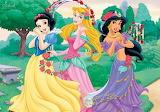 Snow White Aurora and Jasmine