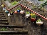 Teapot stairway