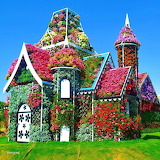 Flowered House 1