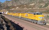 Diesel Locomotive Train Union Pacific #5341