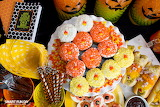 Candy Corn Cupcakes for Halloween