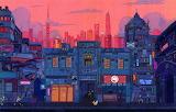 Avto-gorod-robot-roboty-stil-city-fantasy-art-style-fantasti
