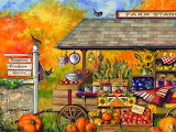Farm Stand in Autumn
