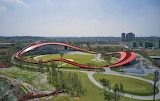 "Architecture archdaily ""Loop of Wisdom Museum & Recep. Center"" """