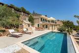 Beachfront luxury stone villa, Brac island, Croatia