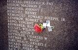 Louisiana Memorial Plaza with Rose