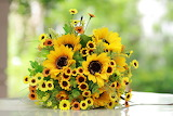 ^ Sunflower Bouquet