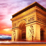 Arc de Triomphe, Paris, France...