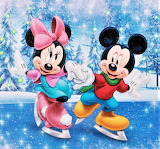 #Minnie & Mickey Ice-Skating