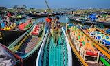 Myanmar, Inle Lake floating market