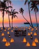 Lanterns In The Sand
