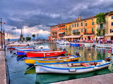 Lake Garda-Lazise Harbour