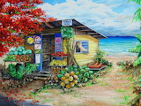 Rosies Beach Cafe by Karin Best...