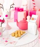 Pink Christmas Table