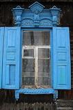 Window Shutters. Ulan, Siberia