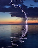 Lightningonthe water