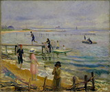 Jetties at Bellport. William James Glackens 1916