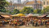 Bavarian market...
