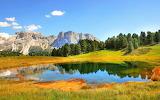 Val Gardena-Dolomites-mountains-Italy