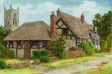 ^ Church and Thatch ~ Colin Bradley