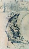 Рєпін І.Ю. Дівчинка Ада