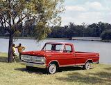 Ford F 100 Pickup Truck