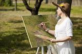 Artist painting in Kernow ;)