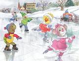 Suzy's Zoo Ice skating
