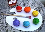 ^ Palette cupcakes
