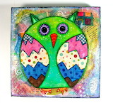 Owl collage