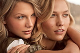 Taylor Swift + Karlie Kloss