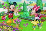 Mickey and Minnie's Flower Garden