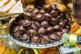 Piedmont Cherries Coated In Dark Chocolate