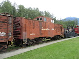 CP Railroad Caboose