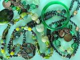 Beads - green