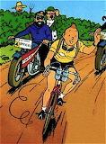 Tintin  maillot  jaune
