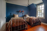 Twin Beds in Blue Room
