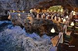 Ristorante Grotta Palazzese, Polignano a Mare. Italy