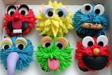 #Sesame Street Cupcakes