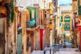 Valletta street, Malta