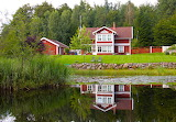 Swedish Red House - Photo from Piqsels id-fmcab